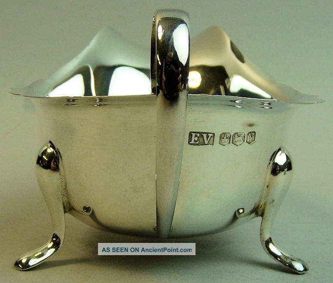 Fine Elizabeth Ii Silver Cased Sauce Boat & Ladle Sheffield 1966/7 Sauce Boats photo