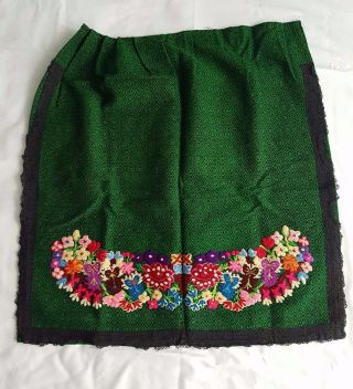 Traditional Serbian Folk Costume Piece,  Woman ' S Apron photo