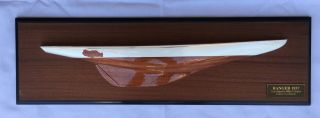 Ranger 1937 - Handcrafted Half Hull From Abordage - Missing Paint photo