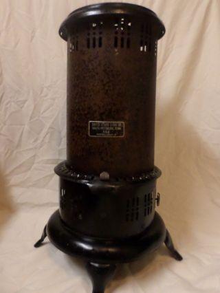 Vintage United States Stove Co.  Kerosene Heater Model Us89 - P photo