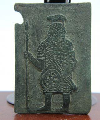 Viking,  Scandinavian Bronze Matrix From The 8th Century photo
