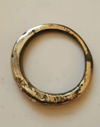Viking Silver Rune Ring photo