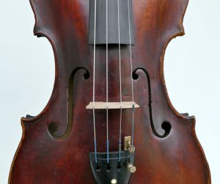 Fine Over 250 Years Old Tyrolean Master Violin,  Albani School,  7/8 Size For Lady photo