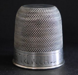 Two Antique Thimble - Shaped Jiggers,