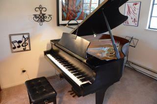 Grand Piano Boston (by Steinway) Gp 178 Satin Ebony 2007 photo