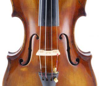 Antique Romerido Muncher4/4 Labeled Old Master Violin photo