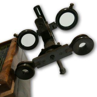 Antique Look Old Vintage Art Brass Folding Steampunk Binoculars Telescope Tc 05 photo