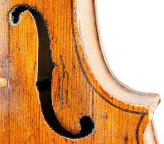 Very Old And Interesting Antique 18th Century Violin - Finolli,  1756 - photo