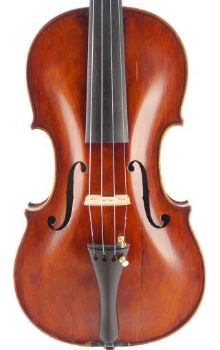 Rare - Casper Strnad,  Antique 4/4 Old Master Violin photo