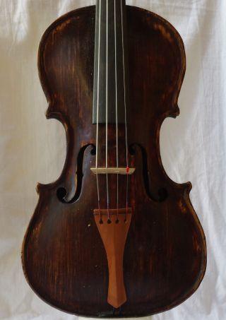 Antique 18th C.  ? Violin Labelled Joannes Udalricus Eberle photo