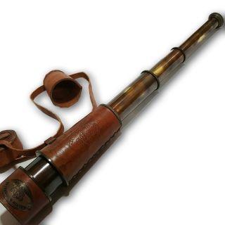 Stunning Marine Theme Vintage Antique Brass 18