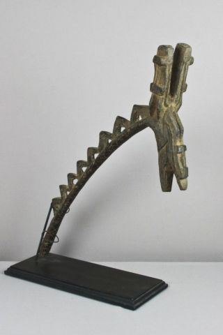 Dogon Thief ' S Staff Yo Domolo – African,  Tribal Art photo