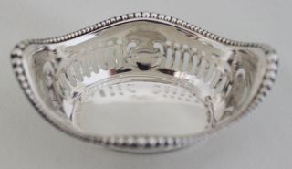 Gorham Sterling Silver Pierced Nut Dish A4775 Hallmarked No Monos photo