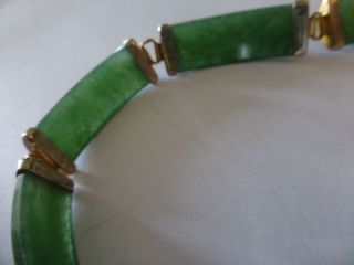 Antique / Vintage Chinese Jade Bracelet photo