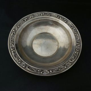 Vintage Gorham Sterling Silver 925 Ornate Bowl 1236 photo