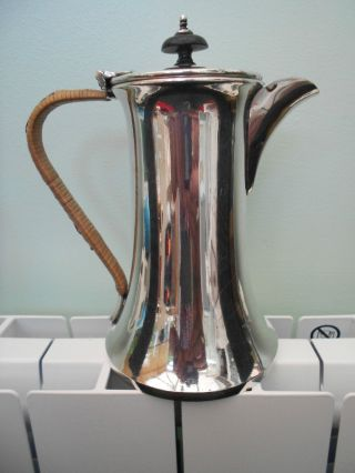Good Quality Silver Plated Coffee Pot By Frank Cobb & Co.  Sheffield C1905 photo