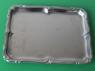 Vintage Alfra Alessi Stainless Steel Serving Tray 24cm C.  1960 photo
