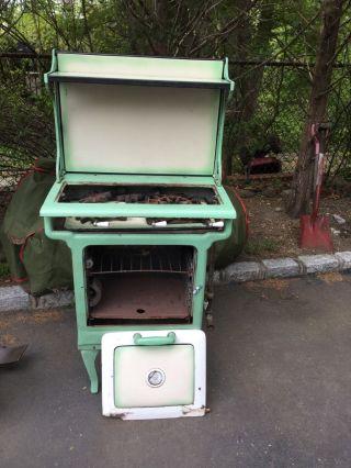 Vintage Antique Prizer Kitchen Stove For Restoration photo