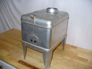Vintage Mighty Midget Wood Burning Stove - Camper / Tent / Cabin - photo
