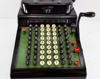 Vintage R.  C.  Allen Model 25 Business Adding Machine Mechanical Calculator photo