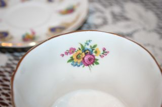 Pretty English Bone China Royal Arden Cup And Saucer photo