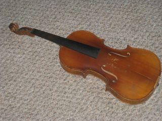 Antonius Stradivarius 4/4 Violin Or Restore photo