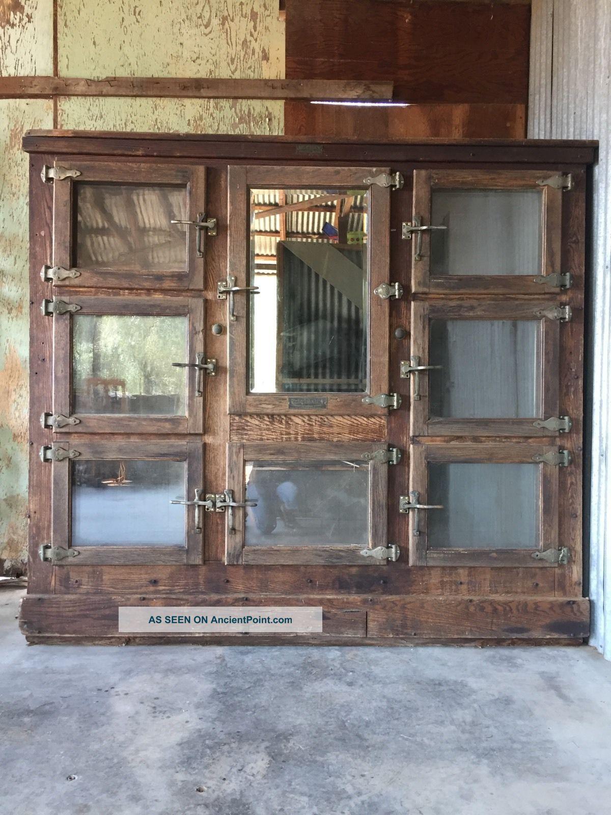 Mccray Ice Box Antique Refrigerator Ice Boxes photo