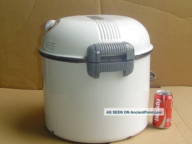 Vintage Portable Electric Washing Machine Kenmore Sears Mini Porcelain Tub Washing Machines photo