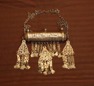 Antique Bedouin.  800 Silver Wedding Tribal Jewelry 32