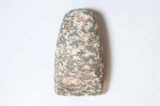 Rare Old Unusual Color Stone Adze Of Moriori Chatham Islands Origin photo