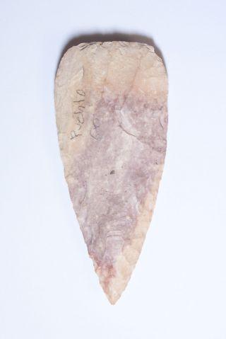 Rare Large Arrowhead Or Point From Pueblo,  Colorado photo
