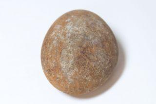 Rare Ancient Hawaii Oblong Sling Stone 8 - photo