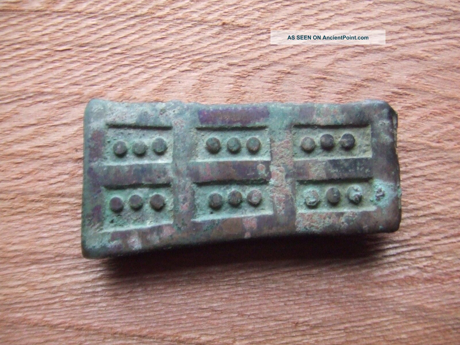 China.  Sung Dynasty.  12th/13th Century Bronze Armour Sections.  Very Rare. Chinese photo