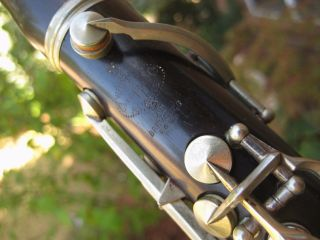 Vintage Buffet C Clarinet Pitched In C Manufactured In 1889 photo