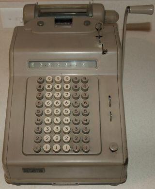 Vtg Ncr National Cash Register Machine Adding Serial 154 - 2 - 77x 806964 photo