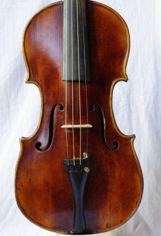 Fine Antique Italian Labelled Violin Mattio Gofrilleri In Venetia 1693 photo