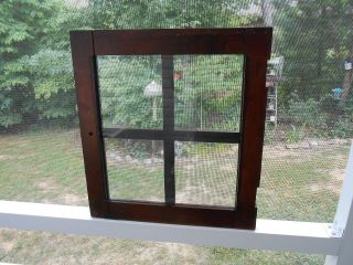 Vtg Window Cabinet Frame Crafts Hobbies Picture Frame Hard Wood Weddings Picture photo