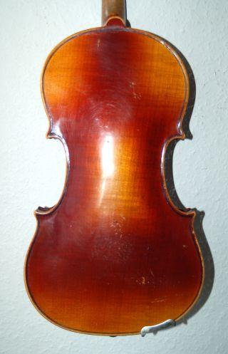 Fine Antique Fullsize 4/4 Violin - Label Nicolas Lupot - 4 Cornerblocks photo