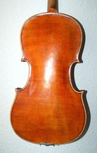 Fine Antique Geman 4/4 Master Violin - Label Josef Klotz In Mittenwalde photo
