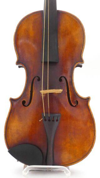Antique Old Violin,  Case Violino Violine Viola Violino German Germany No,  3 photo