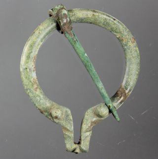 Ring - Shaped Brooch,  Fibula,  Bronze,  Roman Imperial,  3.  Century A.  D. photo
