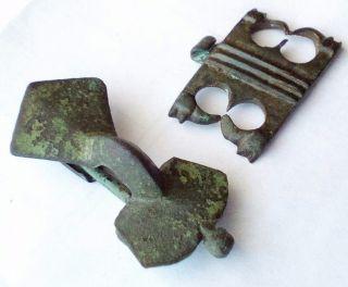 Brooch And Amulet Germanic Tribes The Franks Saxons Visigothic Fibula Pendant photo