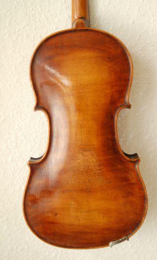 Fine Antique Handmade German 4/4 Fullsize Violin - Around 100 Years Old photo
