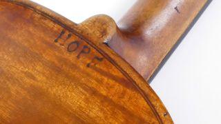 Hopf Very Old Antique Violin,  Case Violino Violine Viola Violino German No.  7 photo