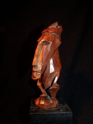 Asmat Pygmee Figure Or Amulet No Batak Dayak photo