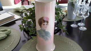 Antique Warwick Portrait Vase photo