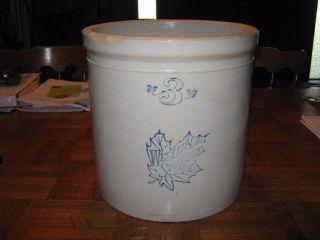 Antique Western Stoneware Co 3 Gallon Crock Glazed Vintage photo