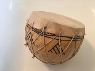 Bendre Calabash Drum Gourd Drum With Prehistoric Pattern photo