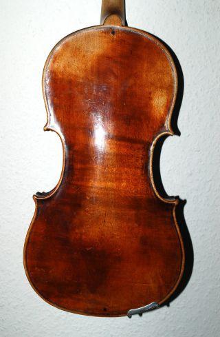 Fine Antique Jon.  Bapt.  Schweitzer 4/4 Master Violin - About 18. photo