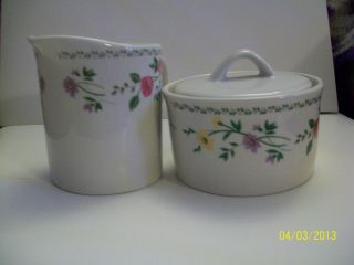 Farberware Matching Creamer And Sugur 1 Pair photo